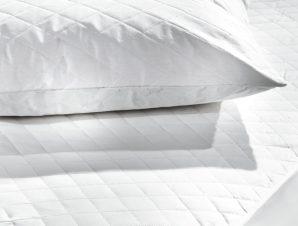 Ζεύγος Καλύμματα Μαξιλαριών Καπιτονέ (50×70) Hotel Polycotton