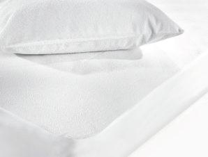 Κάλυμμα Στρώματος Αδιάβροχο (120×200) Hotel Φανελένιο Με Φάσα