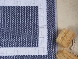Πατάκι Μπάνιου Ξενοδοχείου Μαίανδρος Anesis Γκρι-Λευκό 50×70