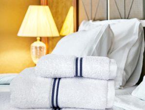 Πετσέτα Σώματος Ξενοδοχείου Anesis Premium Optic White 500gsm 80×150