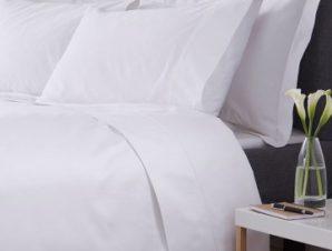Σεντόνι 240×280εκ. 70% Βαμβάκι-30% Polyester 200TC Polycotton Premium Line (Ύφασμα: Cotton 70% – Polyester 30%, Χρώμα: Λευκό) – OEM – 5201847007237
