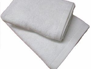 Πετσέτα 50×90εκ. 450gr/m2 Economic Line (Ύφασμα: Βαμβάκι 100%, Χρώμα: Λευκό) – OEM – 5201847008701