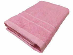 Πετσέτα Πισίνας 80×145εκ. 600gr/m2 Pool Luxury Line Pink (Ύφασμα: Βαμβάκι 100%, Χρώμα: Ροζ) – OEM – 5201847550009-2