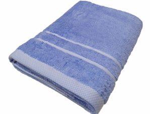 Πετσέτα Πισίνας 80×145εκ. 600gr/m2 Pool Luxury Line Ciel (Ύφασμα: Βαμβάκι 100%, Χρώμα: Γαλάζιο ) – OEM – 5201847550009-8