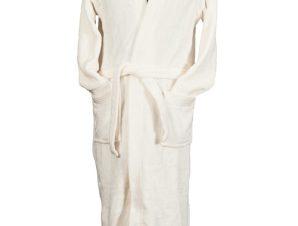 Ρόμπα Coral Fleece Με Γιακά White Extra Large (Ύφασμα: Fleece, Χρώμα: Λευκό) – OEM – 5201847009880XL