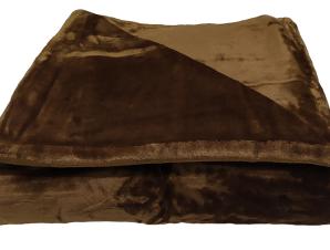 Κουβέρτα Flannel Velour 220×240εκ. Brown (Ύφασμα: Polyester, Χρώμα: Καφέ) – OEM – 5201847222289-2